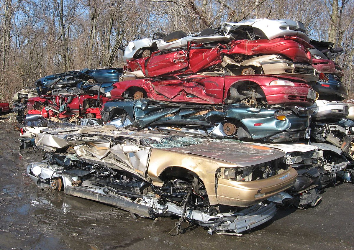 You hate to see it: Don't sell your car to a junkyard